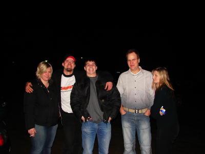 Anna, Ich, Thommy, Jens und Bea