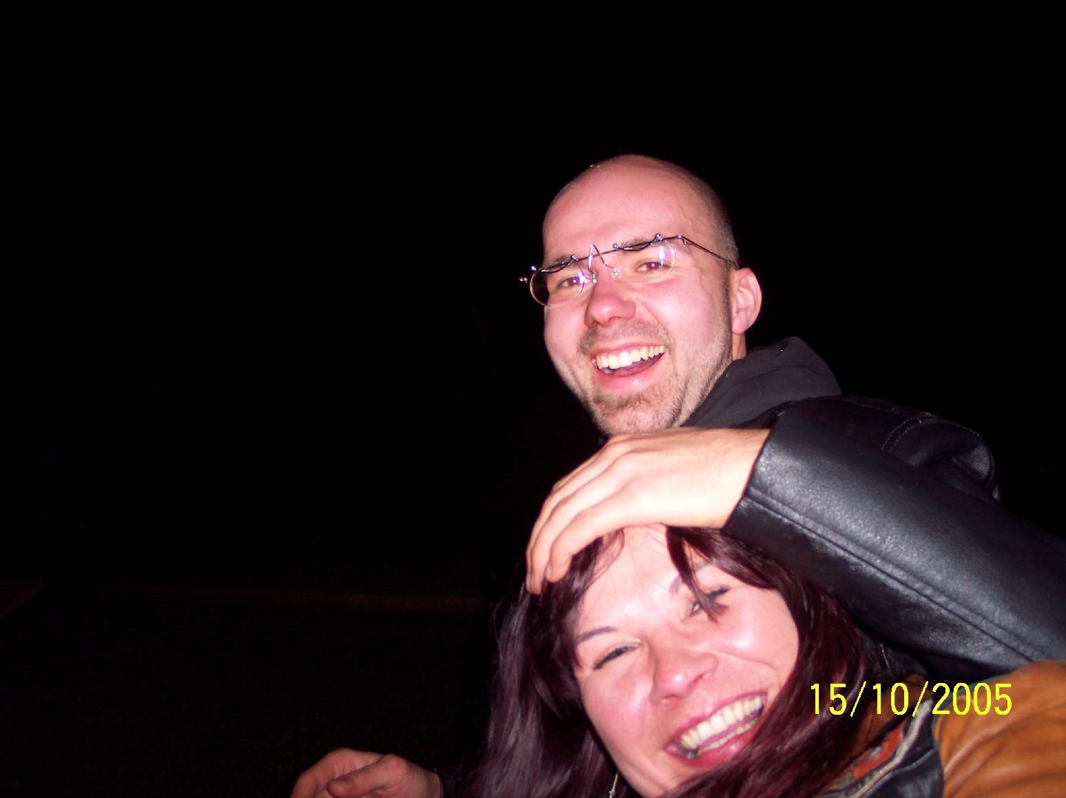 Das bin ich und die Tini beim Hawei seim orig. Oktoberfesdal